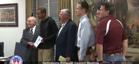 Gettysburg Borough Council – August 10th, 2015
